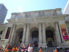グランドセントラル駅と同じ設計者によるNY市立図書館にも寄ってみます。