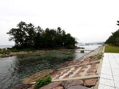 1218 野崎海岸 松島オートキャンプ場の先の駐車場に 目の前は松島