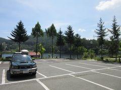 「北山ダム」から「聖湖」にやって来ました 「北山ダム」から「聖湖」は聖高原の別荘地を抜ければ4km程の道のり