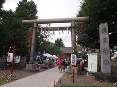 浅草神社でも七夕飾りがされています