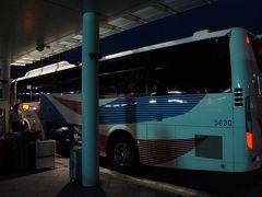 ツアー集合が8:30と早いので、初の高速バス利用。 4:00出発で成田7:30着予定です。 直前まで仕事バタバタで、帰宅後、準備開始そのまま午前3時半に自宅を出ました。
