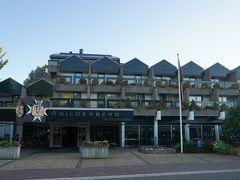アペルドールンに到着。今晩の宿泊は デ・ケーゼルクローンです。 到着20:00ですがまだ明るい。