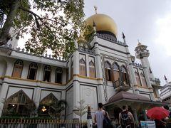 サルタン・モスクにやってきました!