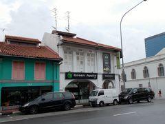 """では、マッサージ! 前回見つけた""""グリーン・アップル""""へ。 ラグジュアリーな雰囲気はありませんが、シンガポールにしてはリーズナブルな料金です。"""