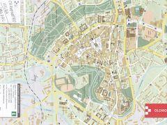 オロモウツの旧市街はホルニー広場を中心にコンパクトにまとまっています。
