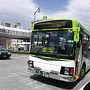 武田神社までのバスは1時間に3本くらいありますが、積翠寺までのバスは1日3本。1本目は始発でも間に合わず、今回は2本目のバスを利用。  信玄公11:30のバスに乗り込む。  ほぼ全員が武田神社で下車。