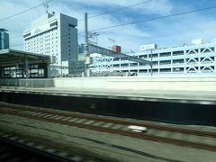 浜松駅を通過