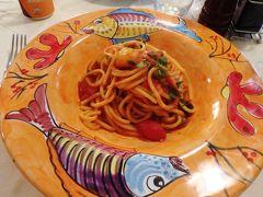 Osteria dell'Alloroで昼食