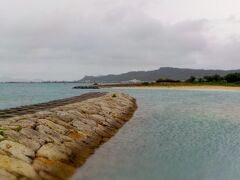 浜比嘉ビーチに到着しました。