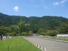 その後、吉香公園へ。