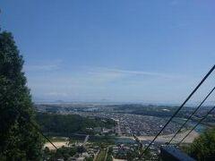 ロープウェイからの眺め^^