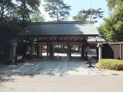 ナビで検索して一番近かったのが御朱印界で超有名な櫻木神社。まさか今回の旅で寄ることになるとは。