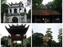 次に向かったのは文廟です。  ガイドブックによると、 こちらは1070年に孔子を祀る為に建立された、 ベトナム最古の大学跡だそうで、 数多くの学者や政治家を輩出しました。