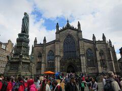 エディンバラいちの大聖堂、セントジャイルズ大聖堂St. Giles' Cathedral。