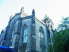 セントジャイルス大聖堂  中に入るチャンスを逃してしまった。 また今度!