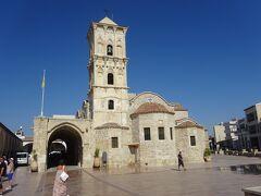 聖ラザロ教会(キリストにより死より復活したラザロがイスラエルよりキプロスに来て、主教としてこの町に30年過ごし、再び、死を迎えて埋葬された教会です。)