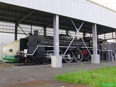 【C57 19、221-1510】 新津鉄道資料館に展示。開館前ですが、この2つはフェンス越しに観られます。 駐車場あり。