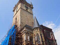 旧市庁舎は残念ながら工事中。 時計塔がああ。 塔には上ることが出来ました。