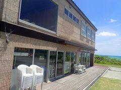 8月21日午後。久米島イーフビーチホテルの敷地内にあるイーフスポーツクラブへ。
