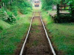 3日目 8月12日 6:00 津軽鉄道線/芦野公園駅  5時起床。 5月の桜の頃に来た時に緑が綺麗な季節にも来てみたいと思っていた。   駐車場 有り