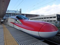 秋田駅からは秋田新幹線で角館まで行きます