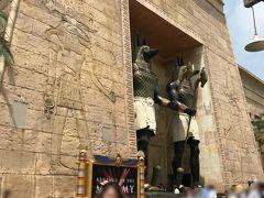 次は、私の好きなエジプトの世界へ