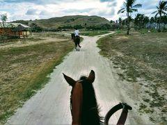 夕方から乗馬でプトリニャレまで散策