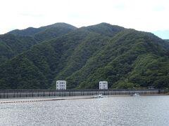 こちらが小河内ダム。