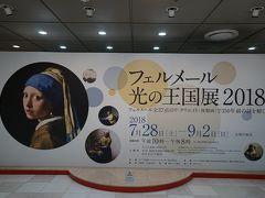 横浜駅で、先日見てきて楽しかったと妹が言っていたそごう美術館「フェルメール光の王国展2018」へ1人で行ってみました。
