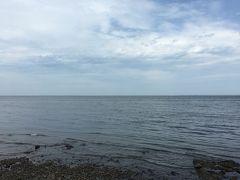 海のように大きなサロマ湖。 日本で3番目に大きな湖。
