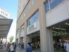 高円寺の駅前に到着です。