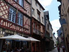 レンヌの旧市街