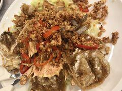 香港に来た時は絶対に来てコレを食べる シャコのガーリックチップ揚げ