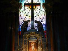 側廊のこの礼拝堂が凄く印象に残りました。