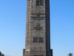国家記念碑の入り口にあるモニュメントです。