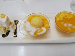 マンゴーを食べました。 香港にもあるお店ですが、まぁいいでしょう。 美味しかったし!!