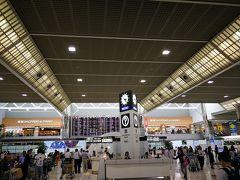 成田空港第2ターミナルは旅行で来るのは約1年ぶり。