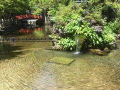 龍泉寺の水行をする池です。夏はまだいいと思いますが、冬は極寒でしょうね。