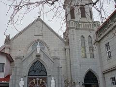 カトリック元町教会。見学ができるので見させていただいた