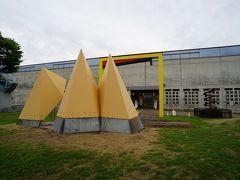 十日町市の中心部にある越後妻有里山美術館キナーレへ。