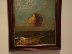 ルドン「ゴヤへのオマージュ」  続いて、通り(シュロス通り)を挟んで真向かいの シャルフ ゲルステンベルク コレクションへ。 ここも、個人のコレクションがベースになっています。 ルドン、エルンスト、デュビュッフェなど、 シュールな絵画が多かったです。
