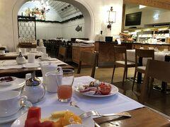 1日だけ泊まった エデンホテルバンフの朝食