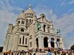 パリ18区【サクレクール寺院】 「聖なる心臓(聖心)」の意味。