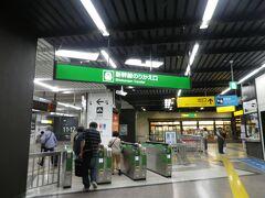 越後湯沢駅に着いたのが17:25頃。 ほくほく線は新幹線と接続してるようなもので、