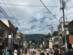 旧軽井沢銀座をブラブラします。