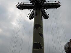 こちらも香港ディズニーランドにもあるアトラクション「トイソルジャーパラシュートドロップ」