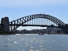 オペラハウス と ハーバーブリッジ をみれば シドニーの1,2の観光名所は押さえたハズ(笑)