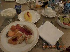 5日目。 今日は少し遅めに起床して、朝食へ。ビュッフェレストランでゆっくり朝食。