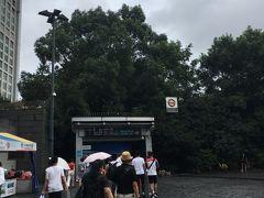 人民広場駅に到着。  次に向かうのはディズニータウン。上海ディズニーには2日間行きましたが、隣のディズニータウンにはほとんど行かなかったのと、ワールドオブディズニーストアで買いたい物もあったので。