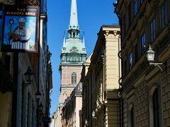 昨日行きそびれたドイツ教会ですが、この日も閉まっていました。残念。